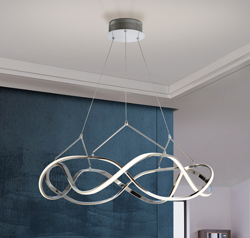 Buy online latest and high quality Molly LED Suspension - Medium Chrome from Schuller | Modern Lighting + Decor