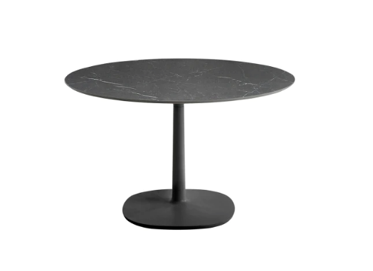 Multiplo Big Square Base Outdoor Table-Round Top