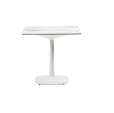Multiplo Big Square Base Outdoor Table-Square Top