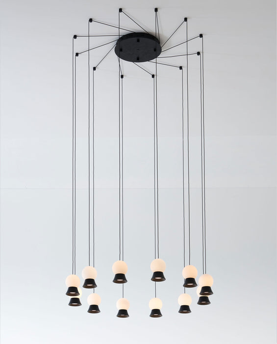 Buy online latest and high quality Fuji Multi Light Suspension from Seed Design | Modern Lighting + Decor