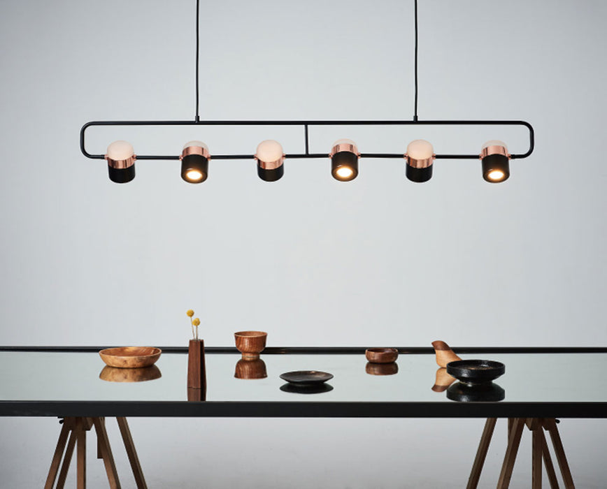 Ling Linear Suspension | Modern Lighting + Decor