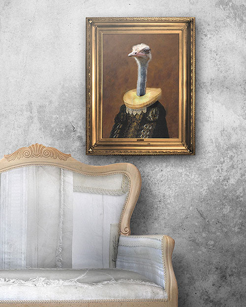 Buy online latest and high quality Senora Emanuela Stretched Printed Canvas from Mineheart | Modern Lighting + Decor