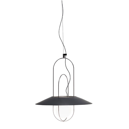 Setareh 45 Pendant Lamp with Glass Diffuser from Fontana Arte | Modern Lighting + Decor