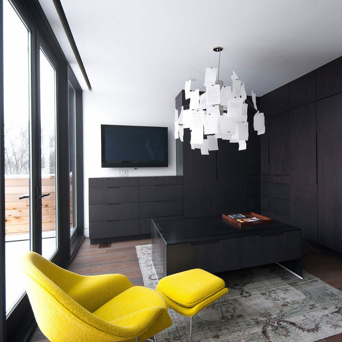 Buy online latest and high quality Zettelz 6 Chandelier | Pendant Light from Ingo Maurer | Modern Lighting + Decor