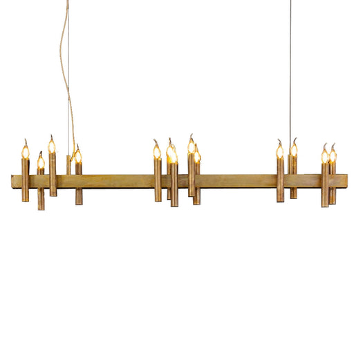 Shiro Horizontal 14 Lights Pendant Light from Brand Van Egmond | Modern Lighting + Decor