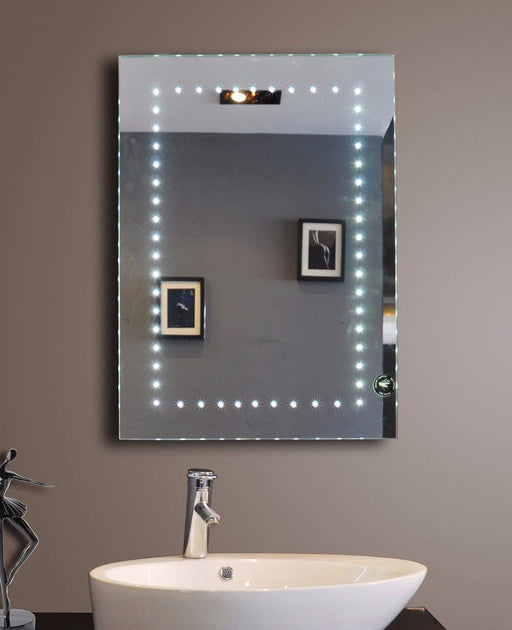 Buy online latest and high quality Lighted Bathroom Mirror Sparkle 20 X 28 In from Paris Mirror | Modern Lighting + Decor