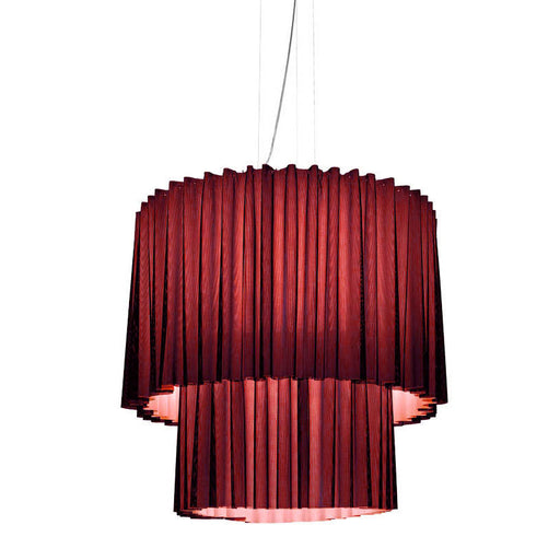Skirt Pendant Lamp - SKR100-2 (Small, 2 tier) from Axo | Modern Lighting + Decor
