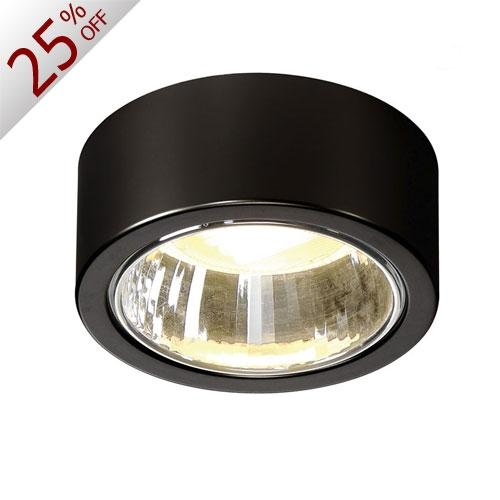 CL 101 GX53 Ceiling Luminaire/Black - Inventory Sale!! from SLV Lighting | Modern Lighting + Decor