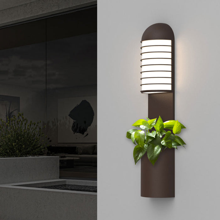 Lighthouse Outdoor Planter Wall Sconce | Modern Lighting + Decor