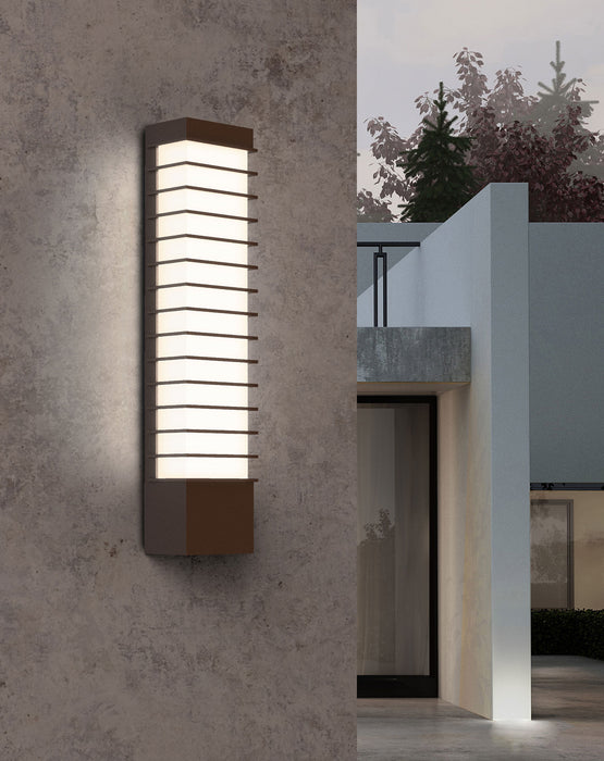 Buy online latest and high quality Tawa Slim Outdoor Wall Sconce from Sonneman | Modern Lighting + Decor