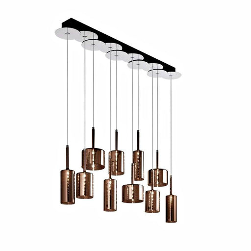 Spillray 10 Suspension Light from Axo | Modern Lighting + Decor
