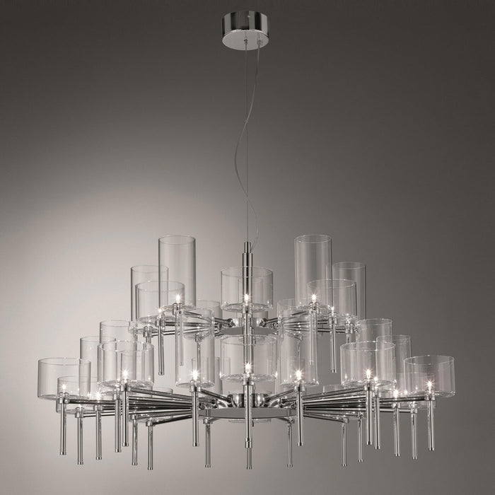 Buy online latest and high quality Spillray 30 Chandelier - LED from Axo | Modern Lighting + Decor