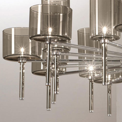 Spillray 30 Chandelier - LED from Axo | Modern Lighting + Decor