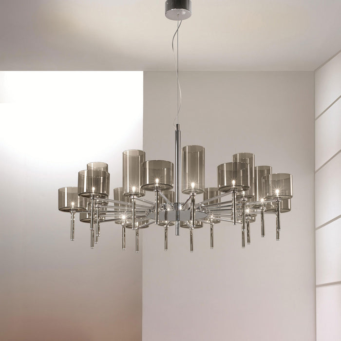 Buy online latest and high quality Spillray 20 Chandelier - LED from Axo | Modern Lighting + Decor