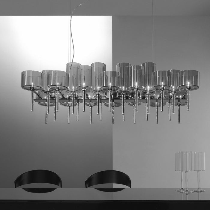 Buy online latest and high quality Spillray 26 Chandelier - LED from Axo | Modern Lighting + Decor
