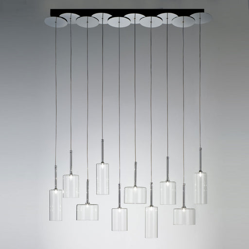 Spillray 10 Suspension Light - LED from Axo | Modern Lighting + Decor