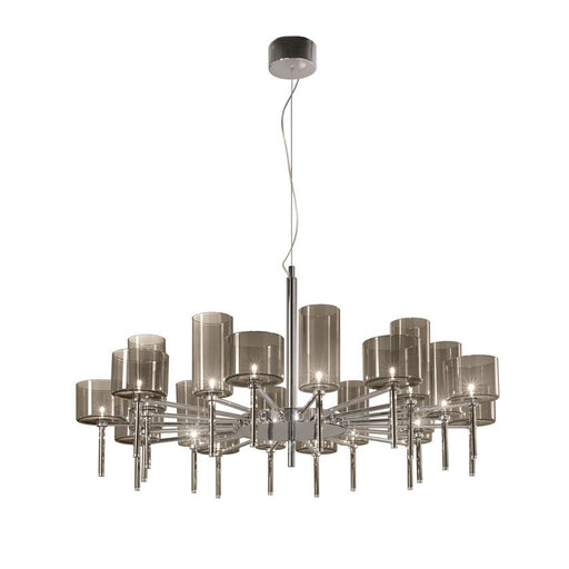 Spillray 20 Chandelier - LED from Axo | Modern Lighting + Decor