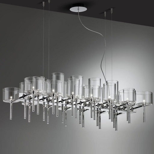Spillray 26 Chandelier - LED from Axo | Modern Lighting + Decor