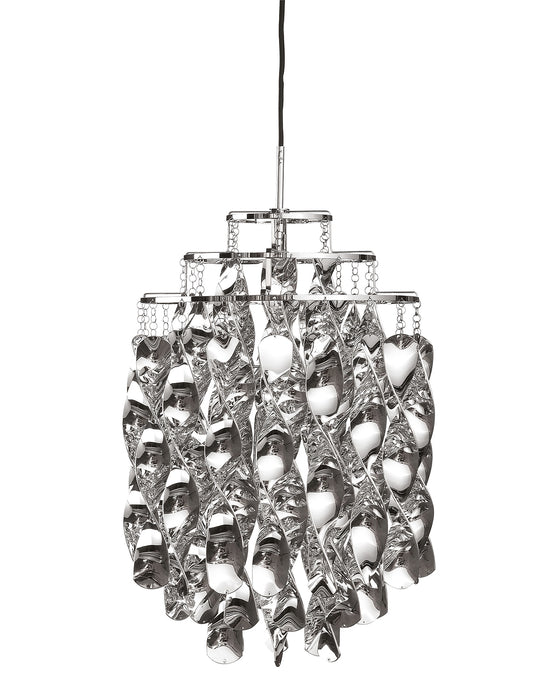 Buy online latest and high quality Spiral Mini Silver Pendant Light from Verpan | Modern Lighting + Decor
