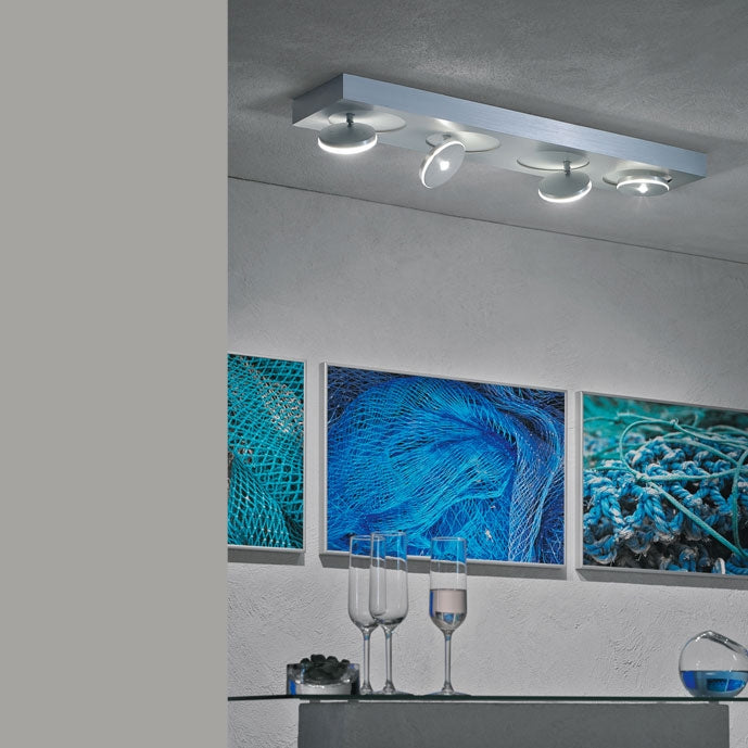 Spot it 4 Rectangular Ceiling Light from Escale | Modern Lighting + Decor