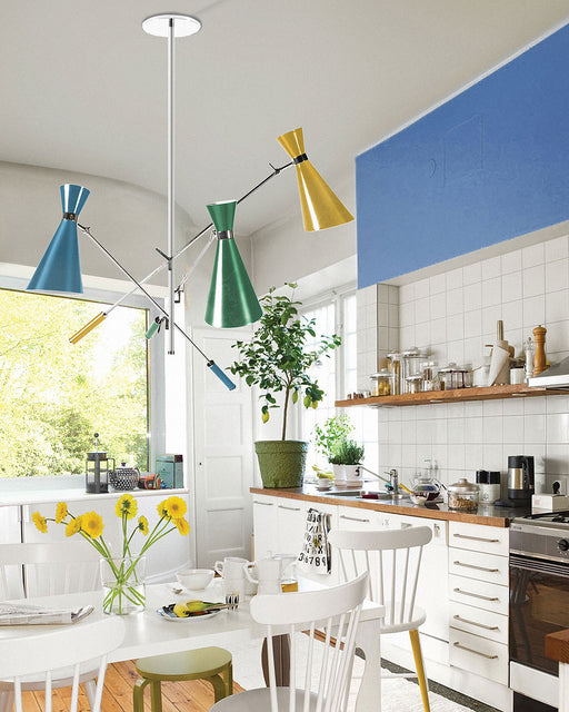 Stanley Retro Pendant Light from Delightfull | Modern Lighting + Decor