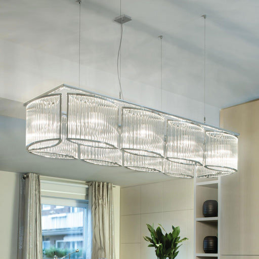Buy online latest and high quality Stilio Rectangular Chandelier from Licht im Raum | Modern Lighting + Decor
