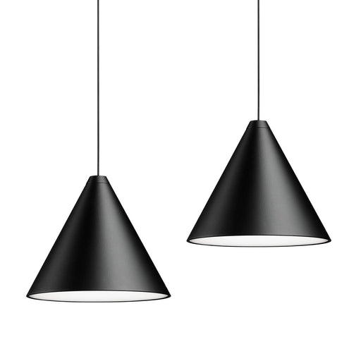 Set of 2 String Lights Cone Pendant from Flos | Modern Lighting + Decor