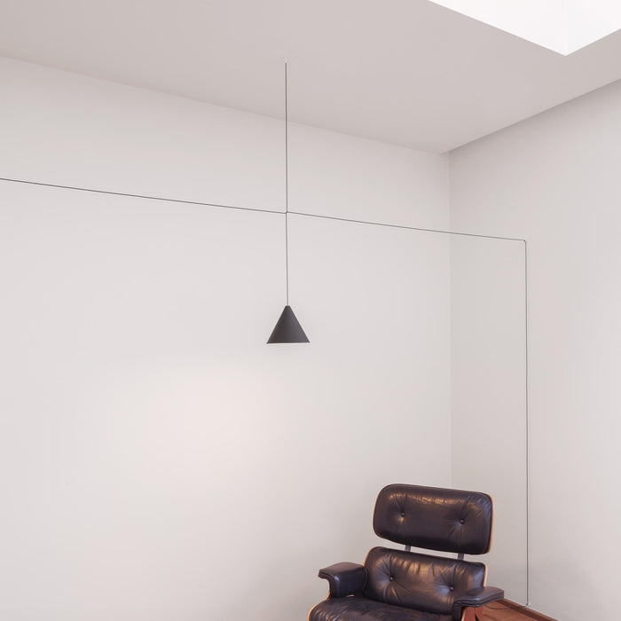 Buy online latest and high quality String Lights Cone Pendant from Flos | Modern Lighting + Decor