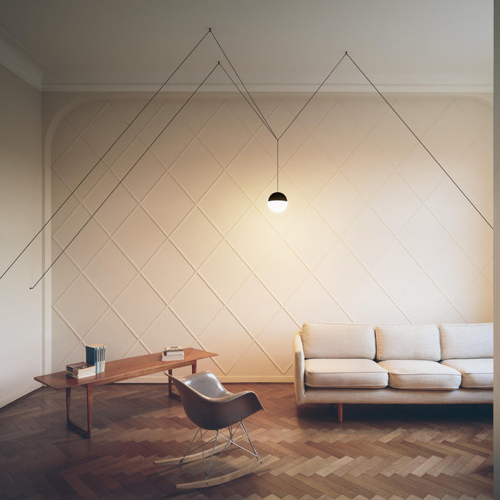String Lights Round Pendant from Flos | Modern Lighting + Decor