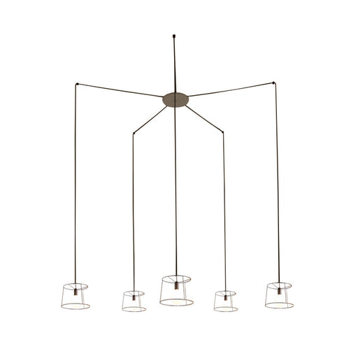 Ideastuccotelaio 20/S5 Round Pendant Lamp from Vesoi | Modern Lighting + Decor