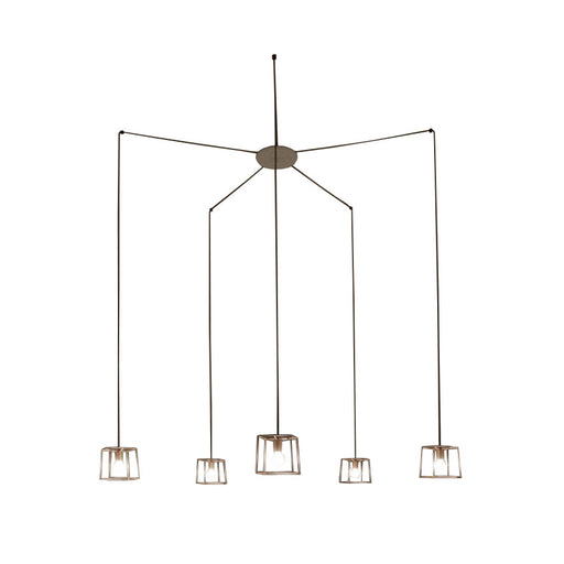 Ideastuccotelaio 20/S5 Square Pendant Lamp from Vesoi | Modern Lighting + Decor