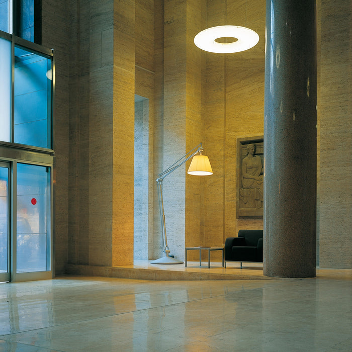 Super Archimoon Indoor Floor Lamp from Flos | Modern Lighting + Decor