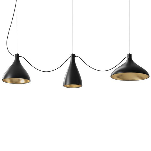 Buy online latest and high quality Swell String 3 Mixed Pendant Light from Pablo Designs | Modern Lighting + Decor