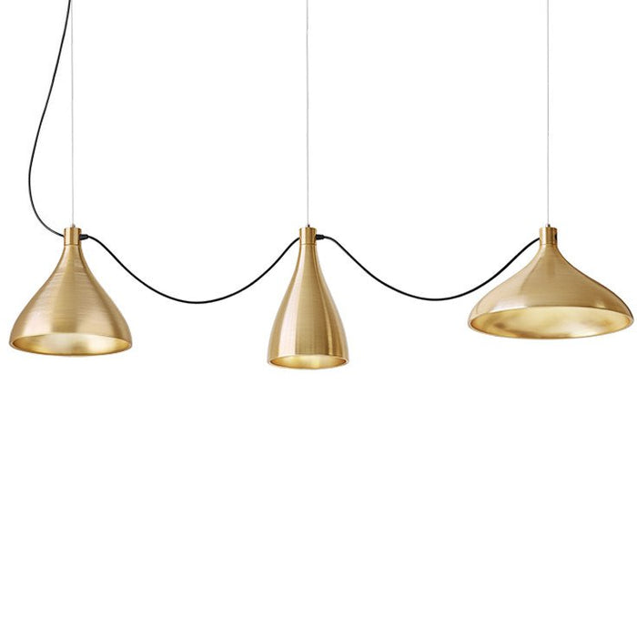 Swell String 3 Mixed Pendant Light from Pablo Designs | Modern Lighting + Decor