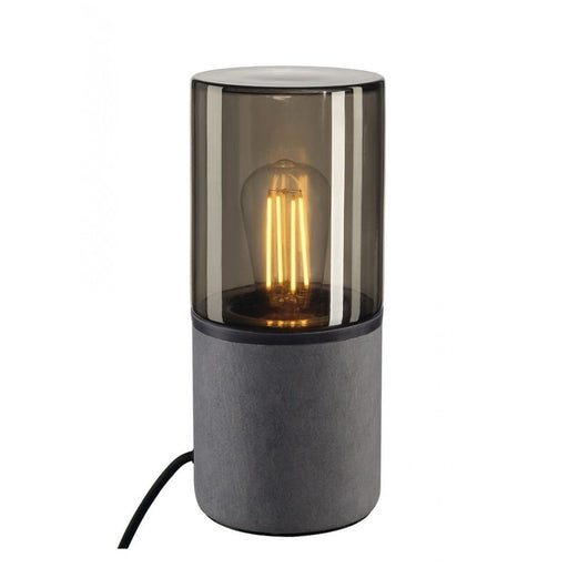 Buy online latest and high quality LISENNE grey, brown, 1-light source Table Lamp from SLV Lighting | Modern Lighting + Decor