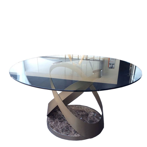 Buy online latest and high quality Capri Table, 71-in Round from Tonin Casa | Modern Lighting + Decor