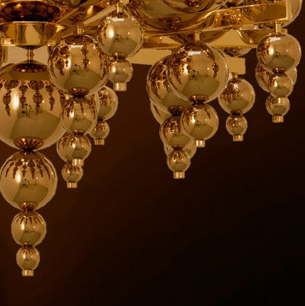 Tears from Moon 34+4 Chandelier from Ilfari | Modern Lighting + Decor