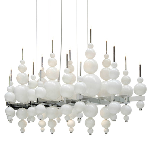 Tears from Moon 22+3 Chandelier from Ilfari | Modern Lighting + Decor