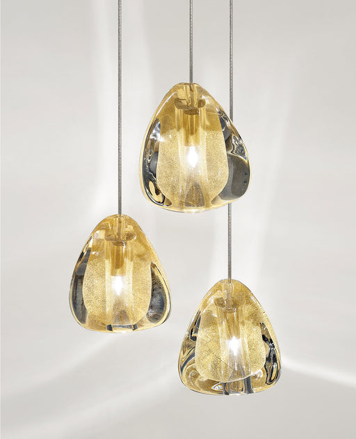 Buy online latest and high quality Mizu Three Pendant Light from Terzani | Modern Lighting + Decor