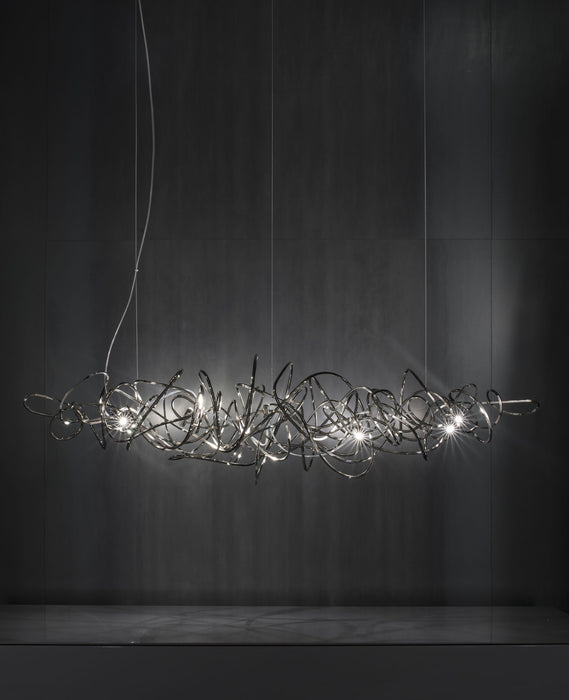 Doodle Horizontal Pendant Light from Terzani | Modern Lighting + Decor