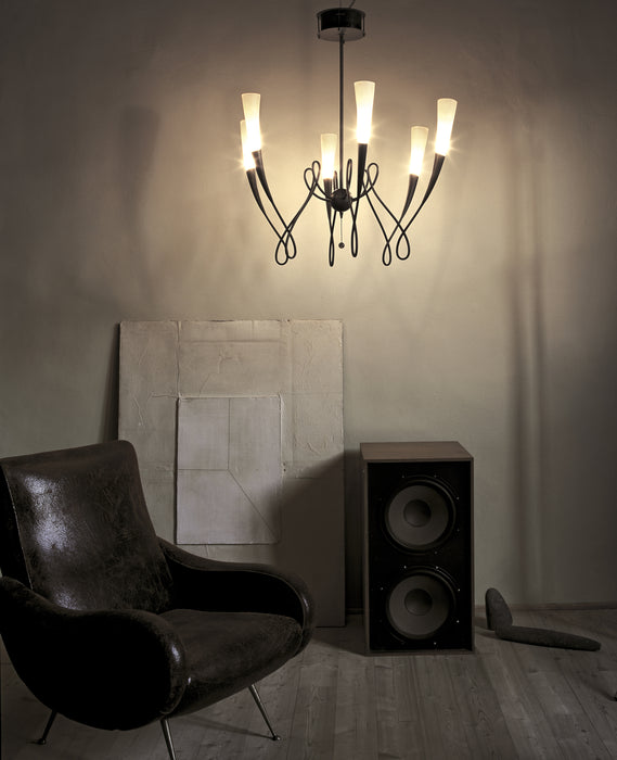 Virgins Chandelier from Terzani | Modern Lighting + Decor