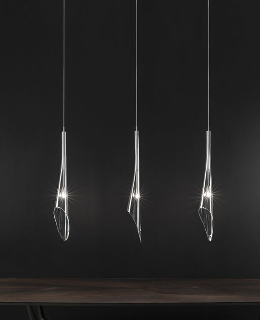 Calle 3 Pendant Light - Linear Canopy from Terzani | Modern Lighting + Decor