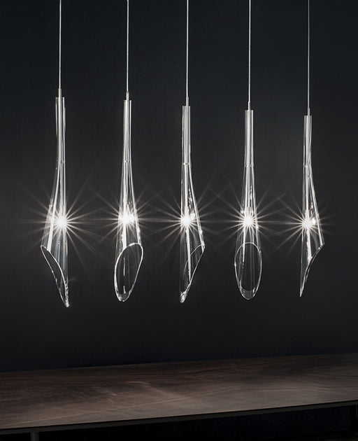Calle 5 Pendant Light - Linear Canopy from Terzani | Modern Lighting + Decor