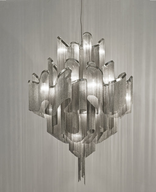 Stream J51S and J50S Chandelier from Terzani | Modern Lighting + Decor