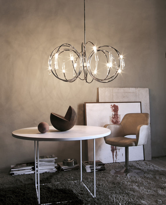 Hook Chandelier from Terzani | Modern Lighting + Decor