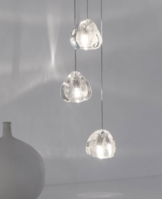 Mizu Three Pendant Light from Terzani | Modern Lighting + Decor