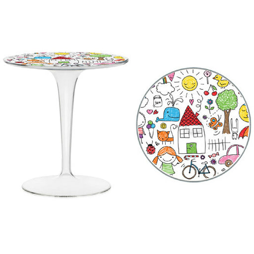 Tiptop Kids Table from Kartell | Modern Lighting + Decor
