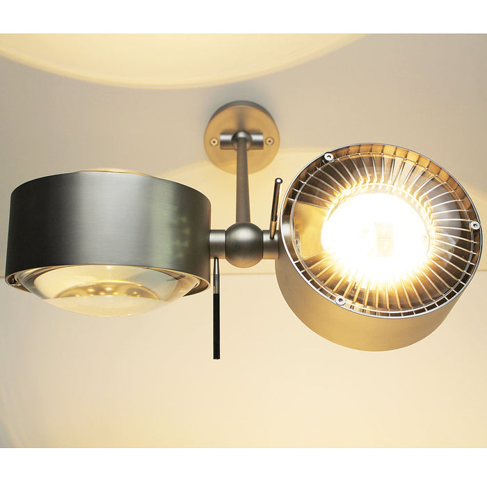 Puk Maxx Wing Twin Wall/Ceiling Light 20 cm from Top Light | Modern Lighting + Decor