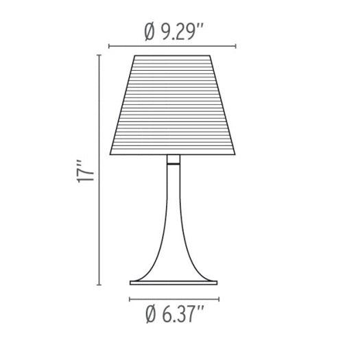 Buy online latest and high quality Miss K Table Lamp from Flos | Modern Lighting + Decor