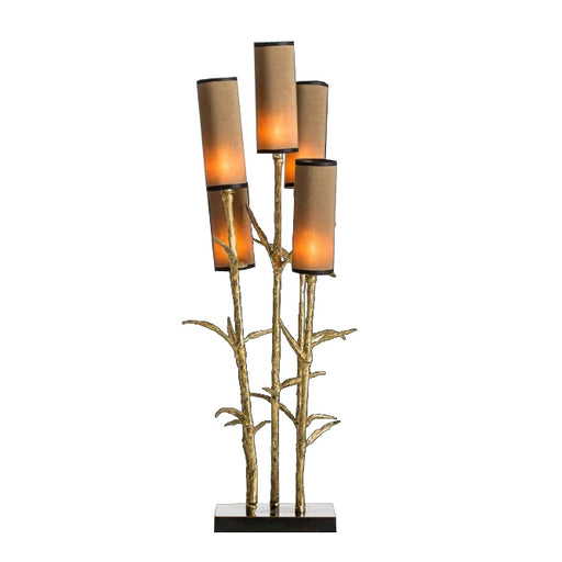 Mysterious Bamboo Table Lamp from Pieter Adam | Modern Lighting + Decor